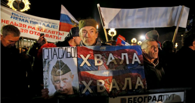 Hvala Putin! Cult of the Russian President as a Patron of Serbia